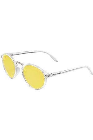 Northweek Unisex VESCA LUOPING okulary przeciwsłoneczne dla dorosłych, żółte (przezroczysty żółty), 132.0