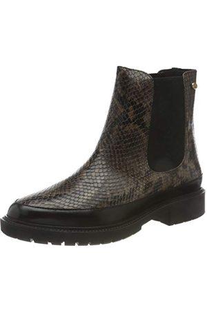 Fred de la Bretoniere Frs0717 Chelsea Ankle Boot 3 cm Croco Printed Leather, - 41 EU