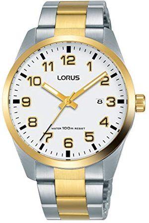 Lorus Klasyczny zegarek męski ze stali nierdzewnej z metalowym paskiem RH972JX9