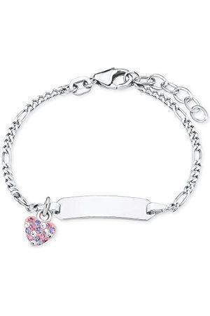Prinzessin Lillifee Srebrna bransoletka dla dziewczynek - 2021115, jeden rozmiar