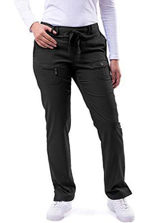 ADAR UNIFORMS Damskie P4100TBLK3X medyczne spodnie szorujące, czarne, 3X-Large-US