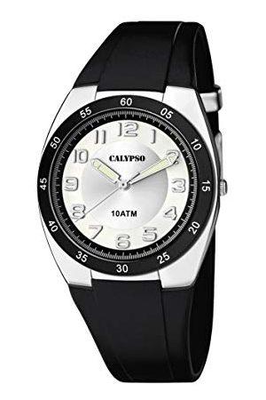 Calypso Męski analogowy zegarek kwarcowy z silikonowym paskiem K5753/5