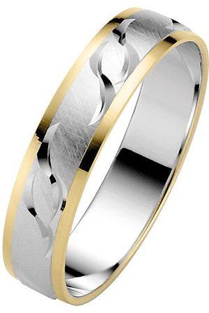 Trauringe Liebe hoch zwei Obrączki ślubne miłość wysoki pierścień dla dwóch mężczyzn 050036206953 e 14 ct (585), dwukolorowe, 68 (21.6), cod. 05003620695368