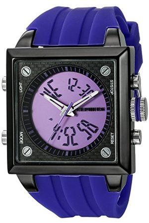 CEPHEUS Męski zegarek na rękę analogowy cyfrowy kwarcowy silikon CP900-633B