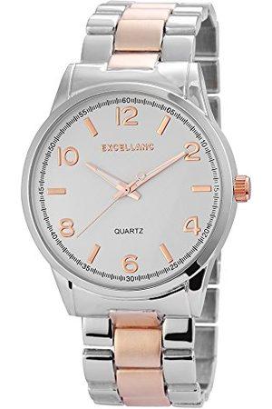Excellanc Męski zegarek na rękę XL analogowy kwarcowy różne materiały 28091200003