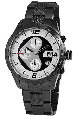 Fila Unisex dla dorosłych analogowy zegarek kwarcowy z bransoletką ze stali szlachetnej 38-001-003