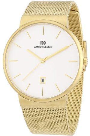 Danish Design Męski zegarek na rękę XL analogowy kwarcowy stal szlachetna powlekana 3310083
