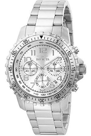 Invicta 6620 Specialty męski zegarek stal szlachetna kwarc srebrny cyferblat
