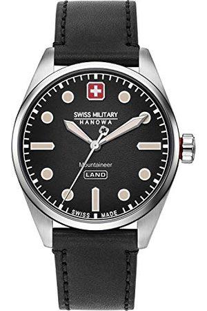 Swiss Military Hanowa Męski analogowy zegarek kwarcowy ze sztuczną skórą 06-4345.7.04.007