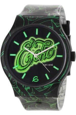 Marc Ecko Męski data klasyczny zegarek kwarcowy z plastikową bransoletką E06507M1