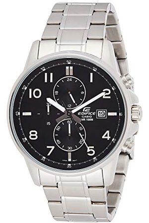 Casio Edifice męski masywna obudowa ze stali nierdzewnej i pasek ze stali szlachetnej pasek do zegarka EFR-505D-1AVEF