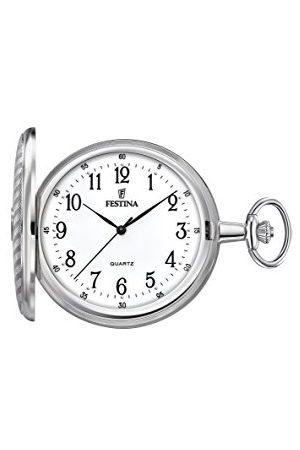 Festina Unisex-dorosły analogowy klasyczny kwarcowy połączony zegarek na rękę z paskiem ze stali nierdzewnej F2021/1