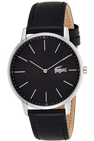 Lacoste Męski analogowy klasyczny zegarek kwarcowy ze skórzanym paskiem 2011016