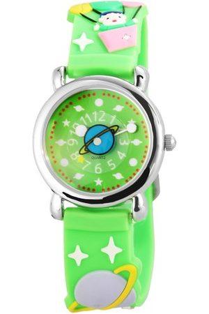 Excellanc Zegarek na rękę unisex analogowy kwarcowy kauczuk 407026500071