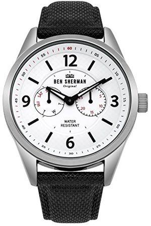 Ben Sherman Męski multicyferblat kwarcowy zegarek z nylonową bransoletką WB069WB