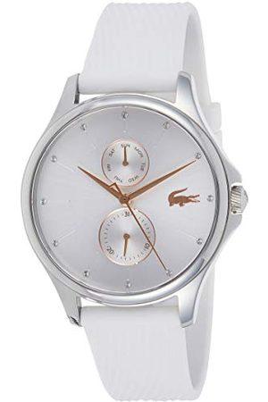 Lacoste Unisex-dorosły wielofunkcyjny zegarek kwarcowy z silikonowym paskiem 2001023