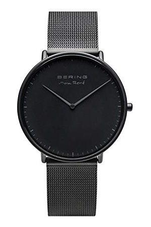 Bering Męski analogowy zegarek kwarcowy z bransoletką ze stali szlachetnej 15738-123