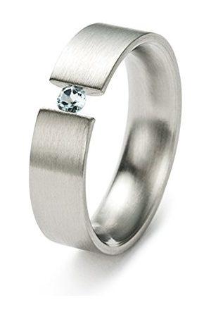 Monomania 20165-54 pierścionek unisex stal nierdzewna antyalergiczny 6 mm rozmiar 54 / O
