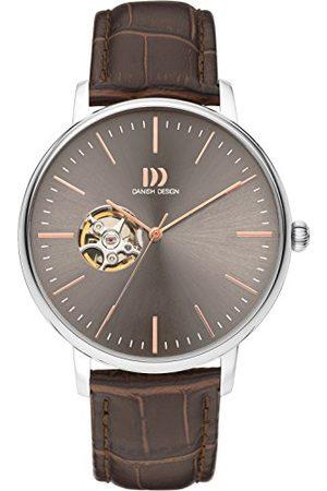 Danish Design Męski analogowy automatyczny zegarek ze skórzanym paskiem IQ18Q1160
