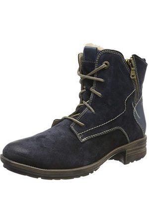 Josef Seibel Sandra 75 Combat Boots buty damskie, - Blau Jeans Pl949 540-43 EU