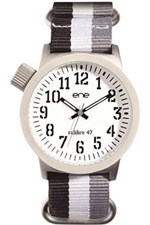 Eñe Męski analogowy zegarek kwarcowy z nylonowym paskiem E71923