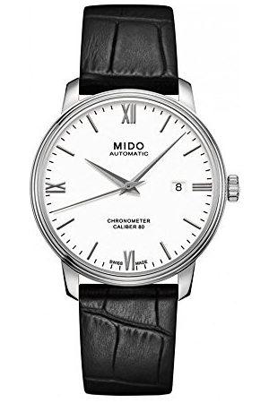 MIDO Męski analogowy automatyczny zegarek ze skórzanym paskiem M0274081601800
