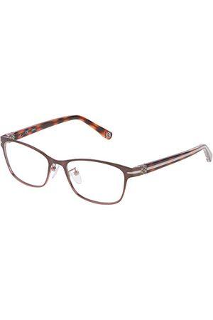 Loewe Unisex VLW928G530SRC oprawka okularów, różowa (Sh.Sat.Brown rozm. Dark Pink), 55