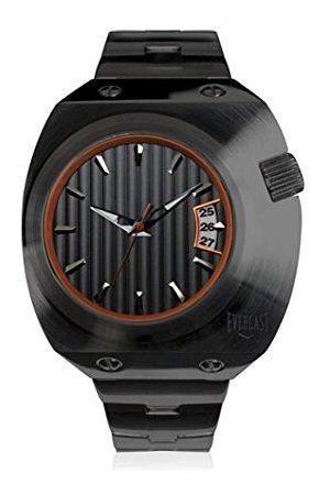 Everlast Uniseks dla dorosłych analogowy zegarek kwarcowy z bransoletką ze stali szlachetnej EVER33-200-004