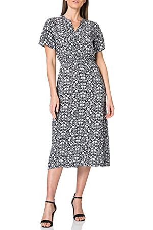 Blue Seven Damska sukienka Midi, Henley