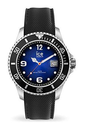 Ice-Watch ICE stal ciemnoniebieska - męski zegarek na rękę z paskiem silikonowym - 017329 (bardzo duży)
