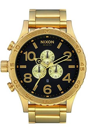 Nixon Męski zegarek kwarcowy chronograf z paskiem ze stali nierdzewnej A083-510-00