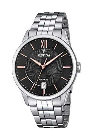 Festina F20425/6 męski analogowy zegarek kwarcowy z bransoletką ze stali nierdzewnej
