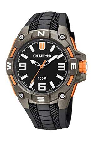 Calypso Calypso zegarki męskie analogowy klasyczny zegarek kwarcowy z plastikowym paskiem K5761/4