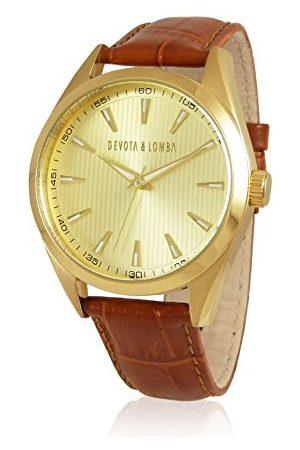 Devota&Lomba Zegarek na rękę analogowy DL014ML-02BRGOLD