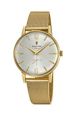 Festina Męski analogowy klasyczny kwarcowy połączony zegarek na rękę z paskiem ze stali nierdzewnej F20253/1