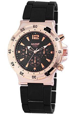 Akzent Męski analogowy kwarcowy zegarek bez paska SS884100014