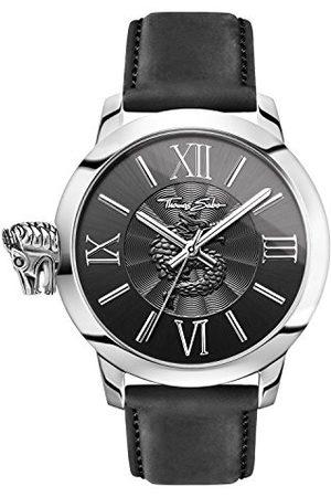 Thomas Sabo Męski zegarek na rękę analogowy kwarcowy skóra WA0295-218-203-46 mm