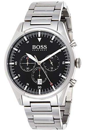 HUGO BOSS Męski analogowy zegarek kwarcowy z paskiem ze stali nierdzewnej 1513712