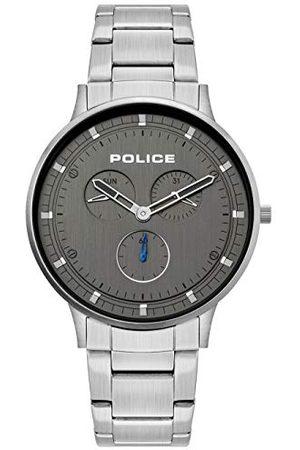 Police Policja męski analogowy zegarek kwarcowy ze skórzanym paskiem 1