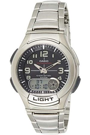 Casio Collection męski zegarek na rękę bransoletka srebro