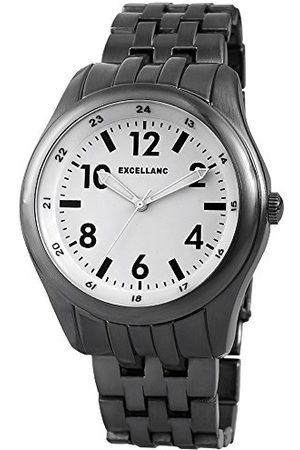 Excellanc Męski zegarek na rękę XL analogowy kwarcowy różne materiały 28097200001