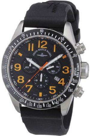 Zeno Męski zegarek na rękę XL kwarcowy analogowy skóra 6497-5030Q-s15