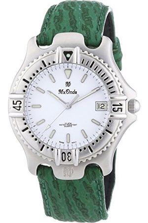 Mx Onda Męski zegarek na rękę XL analogowy kwarcowy skóra 32-6200-15