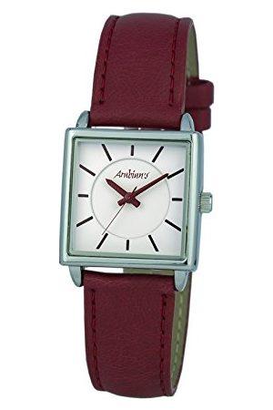 Arabians Męski analogowy zegarek kwarcowy ze skórzanym paskiem DBA2252R