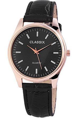 CLASSIX Męski analogowy zegarek kwarcowy ze skórzanym paskiem RP4783100012