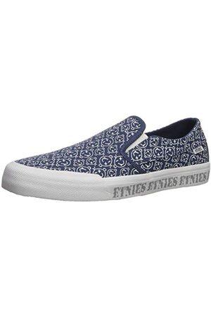 Etnies Unisex Langston buty skateboardowe dla dorosłych, Navy Red White, Medium, - Blau 472 Navy White 472-38.5 EU