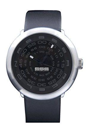 666Barcelona Męski analogowy zegarek kwarcowy ze skórzanym paskiem 66-231