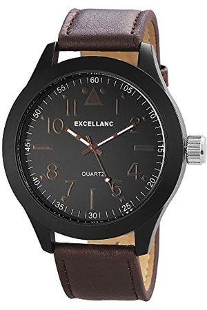 Excellanc Męski zegarek na rękę XL analogowy kwarcowy różne materiały 295071000171