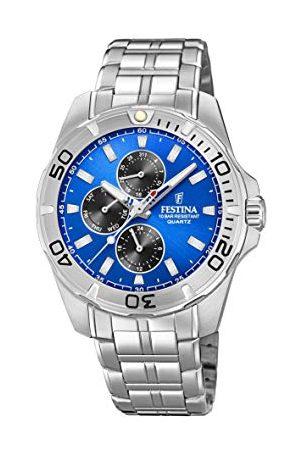 Festina F20445/4 męski zegarek kwarcowy z bransoletką ze stali nierdzewnej