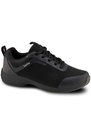 Sanita Unisex Adult Sneaker, czarne, 38 EU